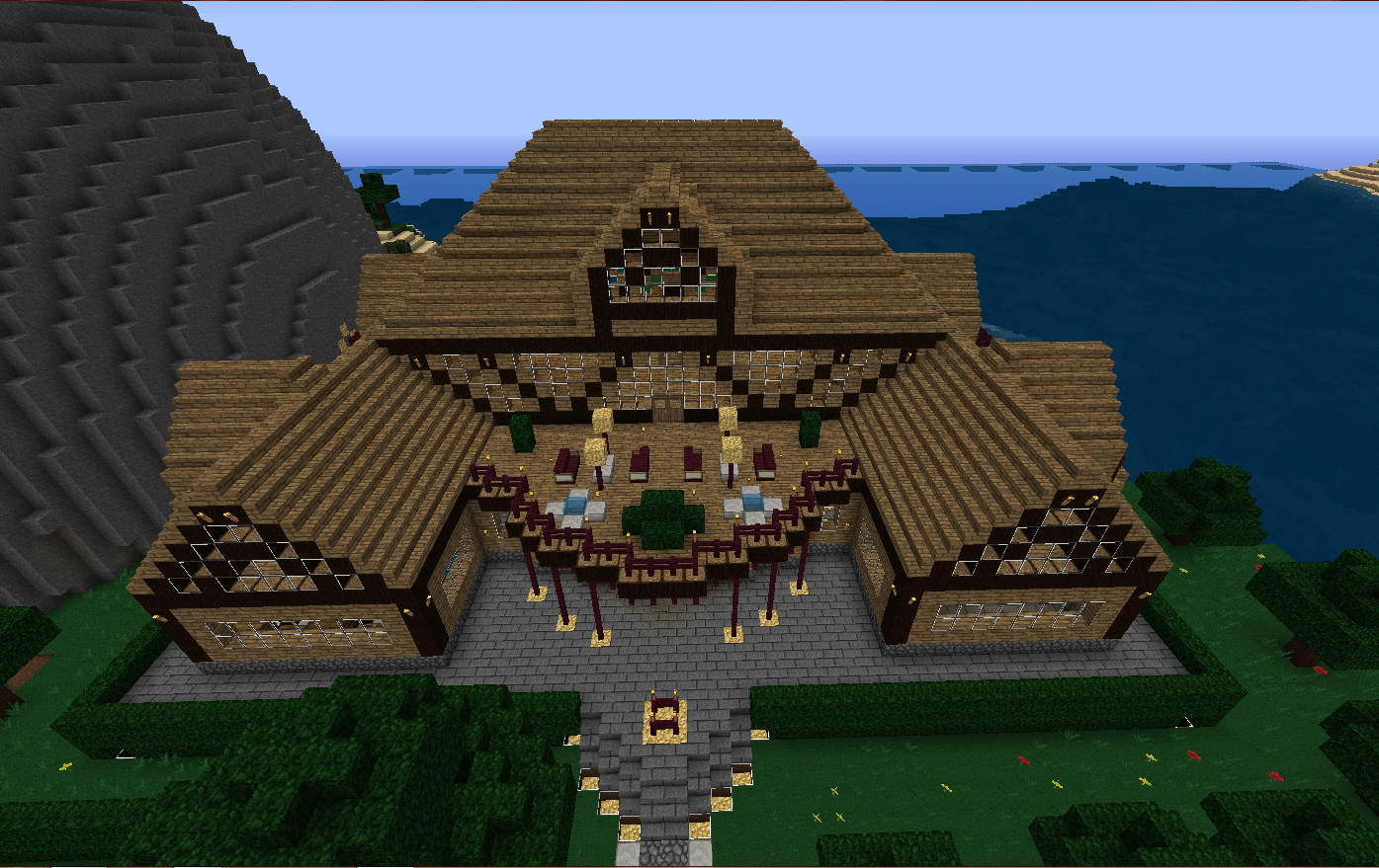 Maison en bois minecraft - Construction maison minecraft ...