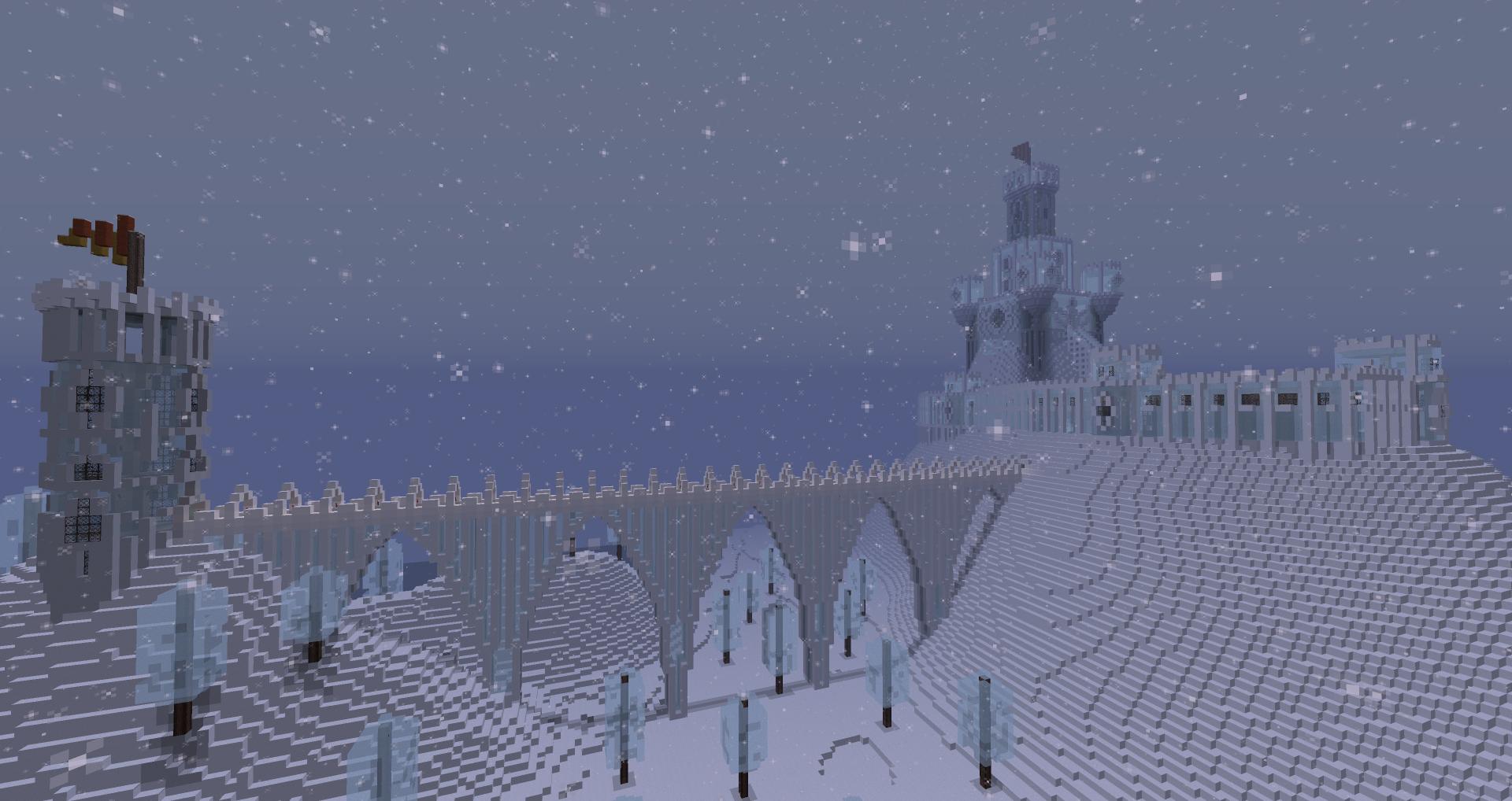 Chateau de glace forum - Chateau de minecraft ...