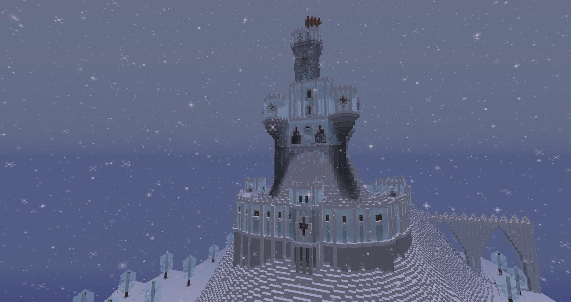Chateau de glace for Chateau de glace reine des neiges