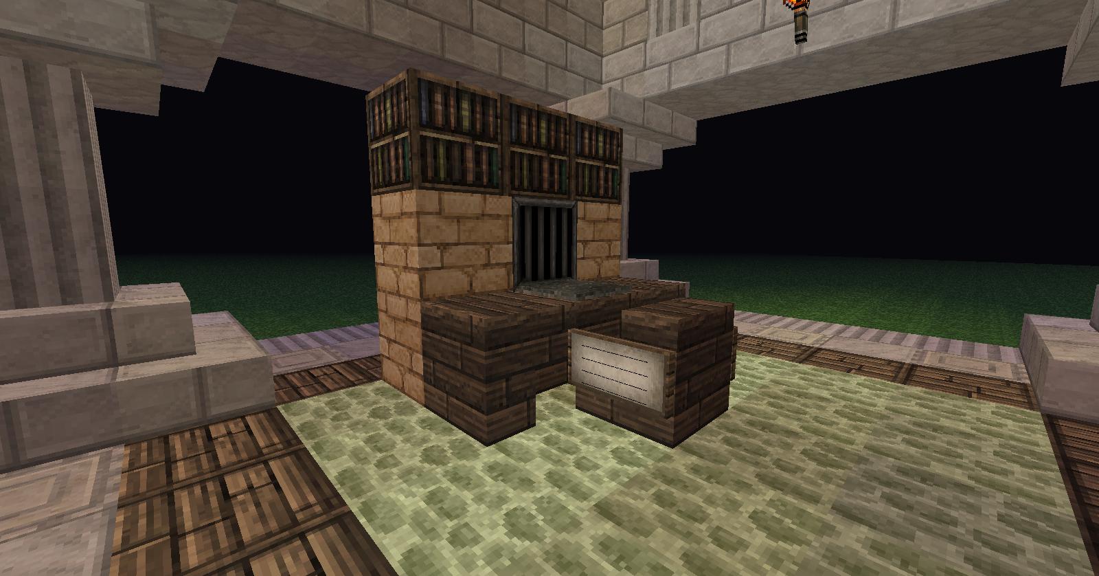 photos nouvelle d co d couverte c 39 est par ici minecraft. Black Bedroom Furniture Sets. Home Design Ideas