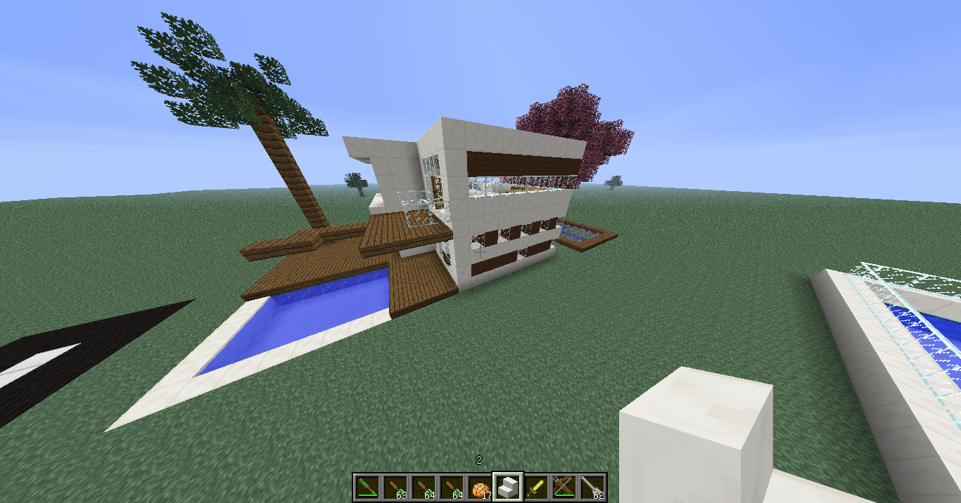 [Galerie] Maison moderne de luxe  Minecraft