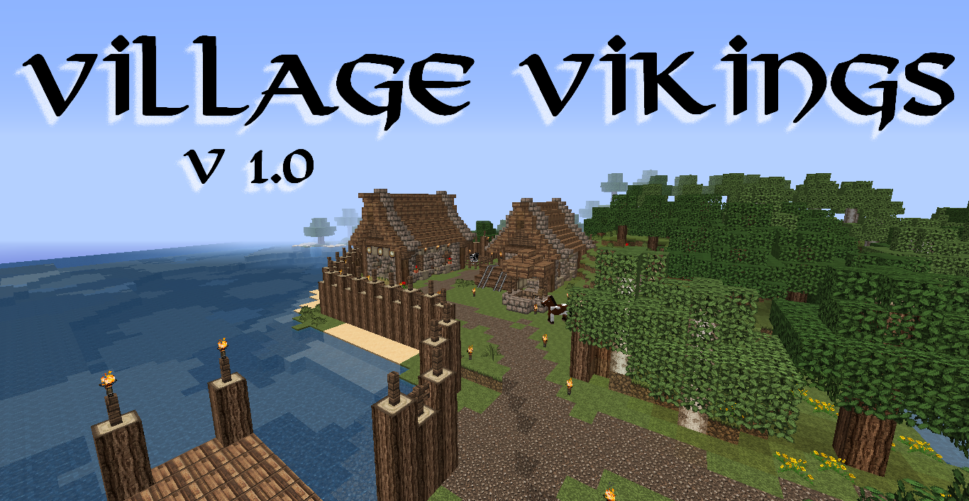 map village vikings construction medieval v1 0