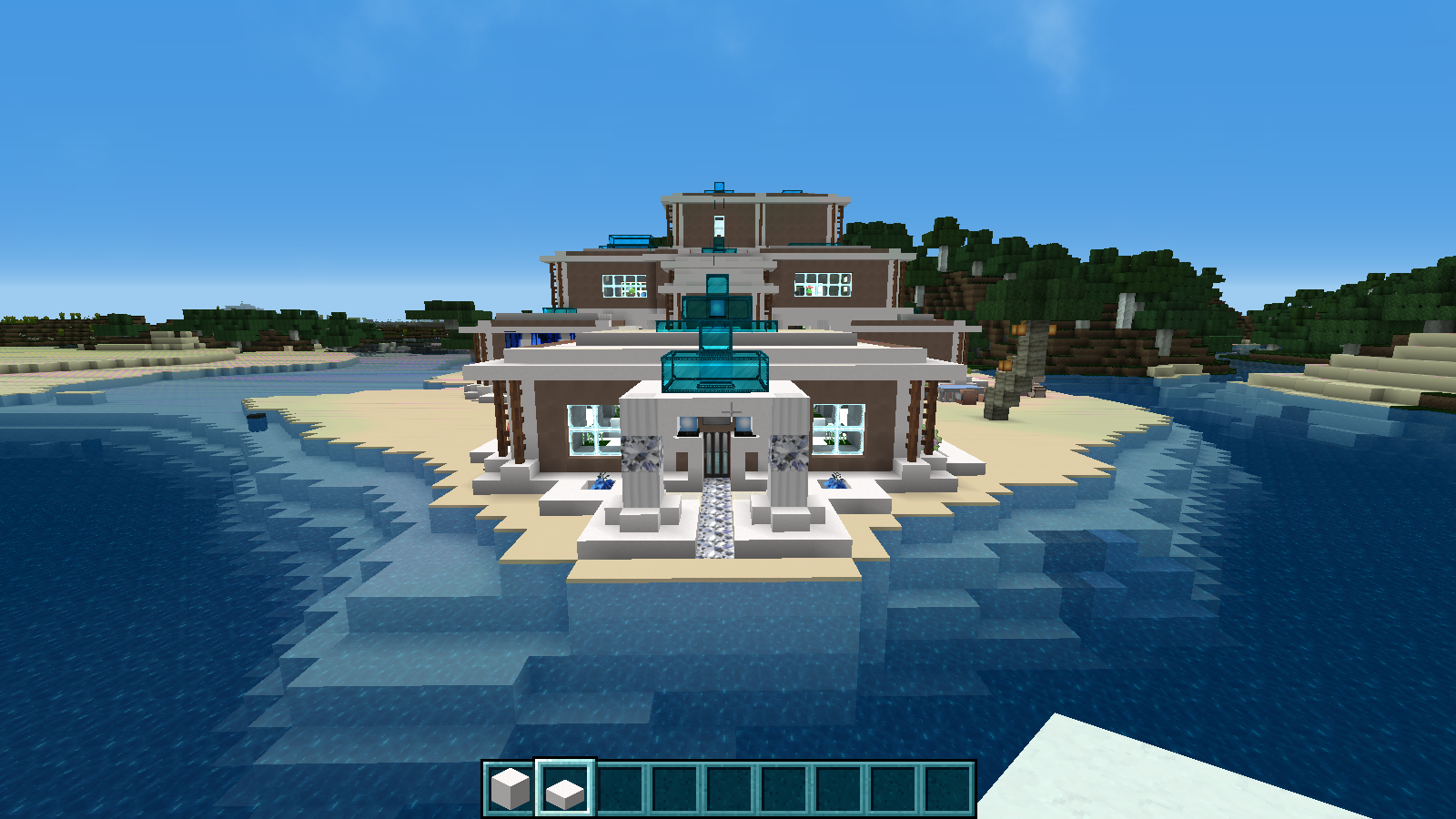 Minecraft Construction Villa De Luxe : Construction moderne minecraft forum