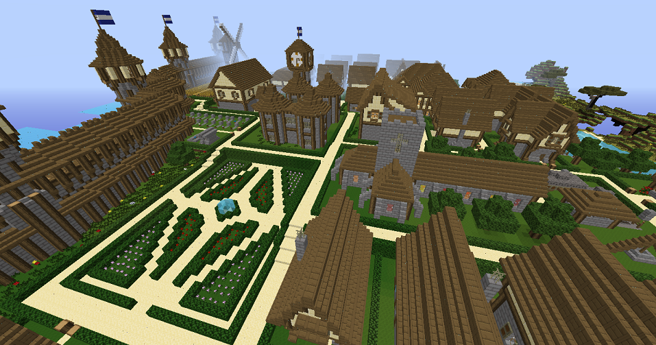 Cr ation d 39 une cit m di vale forum - Construire une cite medievale ...