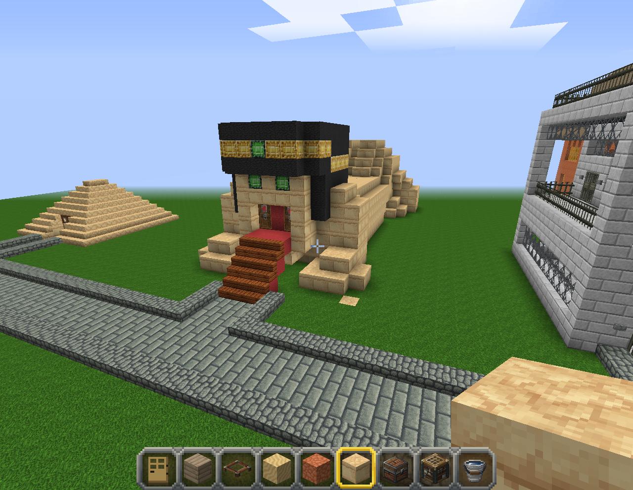 Offline architecte d butant faite votre construction sur demande minecraft - Maison minecraft simple ...
