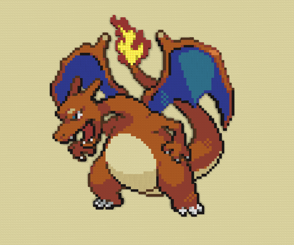 Création Pixel Art Pokémon Minecraftfr Forum