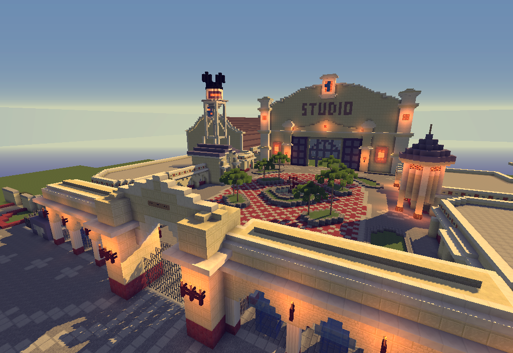 CraftDisney - a reproduction of DisneyLand Paris on Minecraft ! [EN on