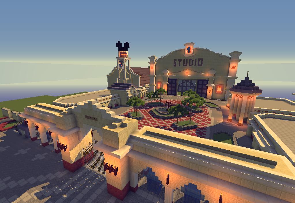 CraftDisney - a reproduction of DisneyLand Paris on ...