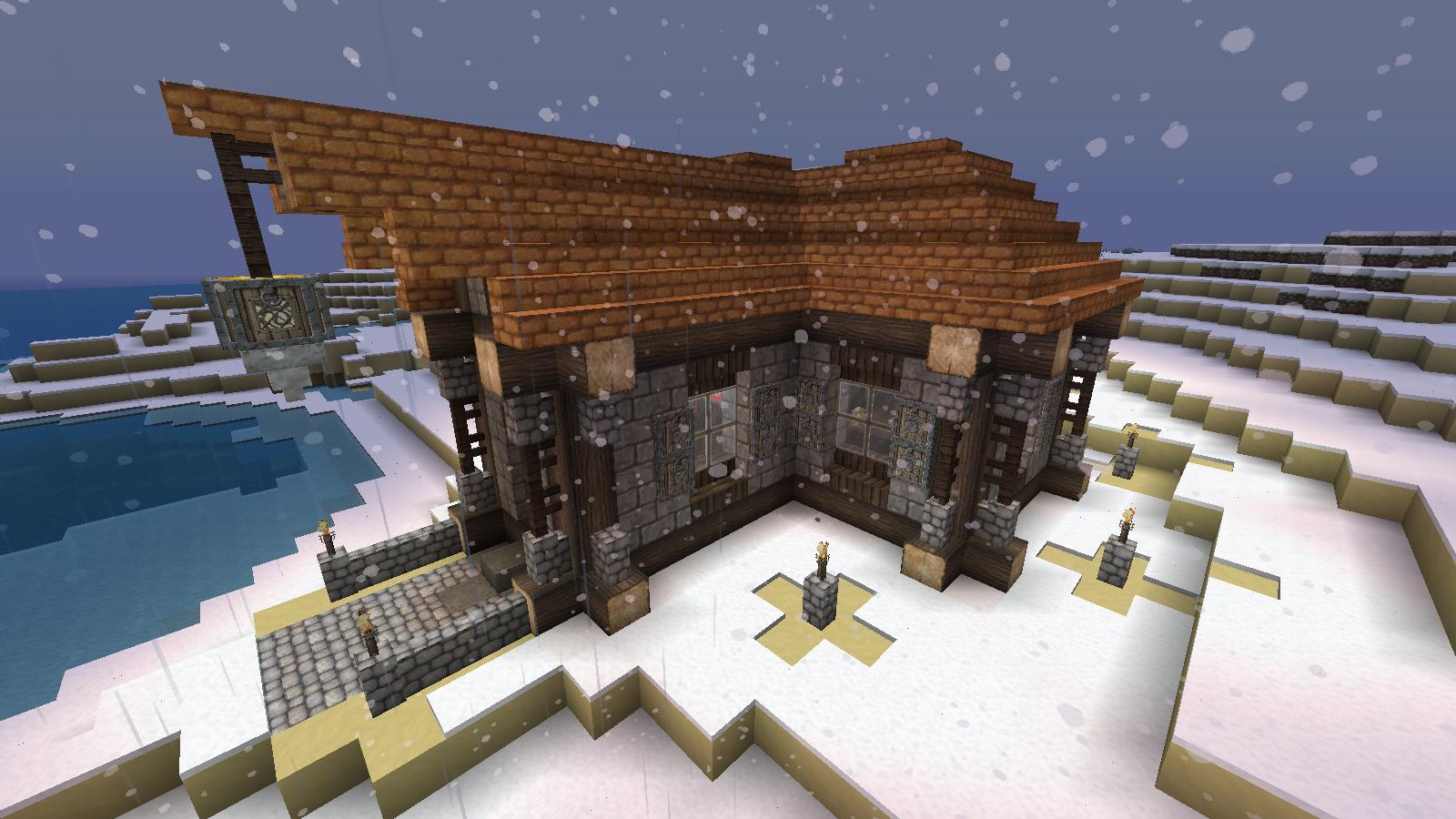 Maison Rustique Minecraft Fr Forum
