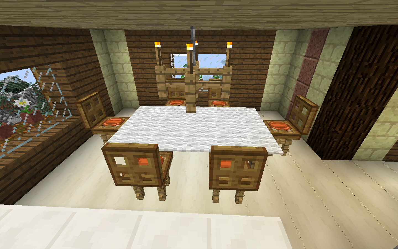 Salle de bain moderne minecraft - Decoration maison minecraft interieur ...