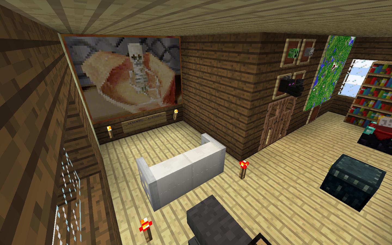 Map   voici ma première construction: un petit chalet moderne ...