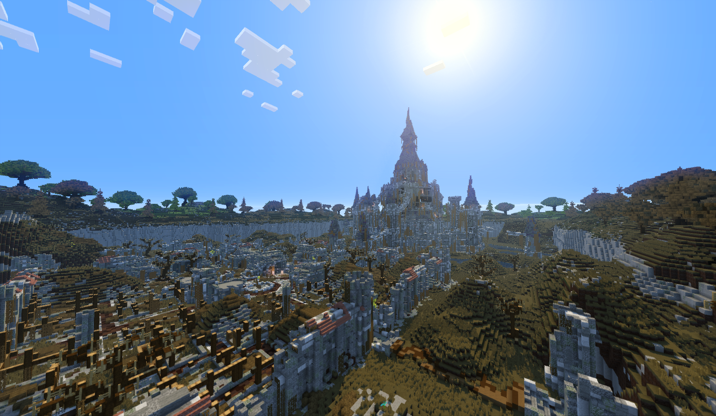 Ancient Ch 226 Teau D Hyrule Minecraft Fr Forum