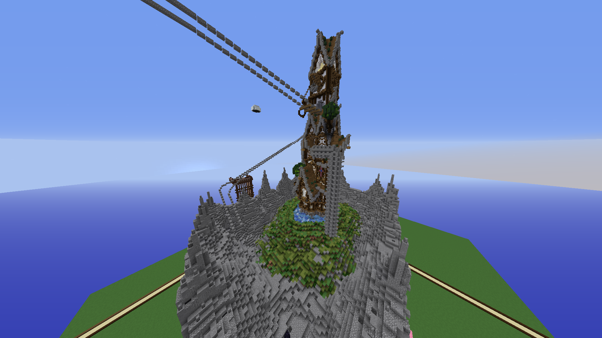 Construction En Cours La Maison Steampunk Minecraftfr