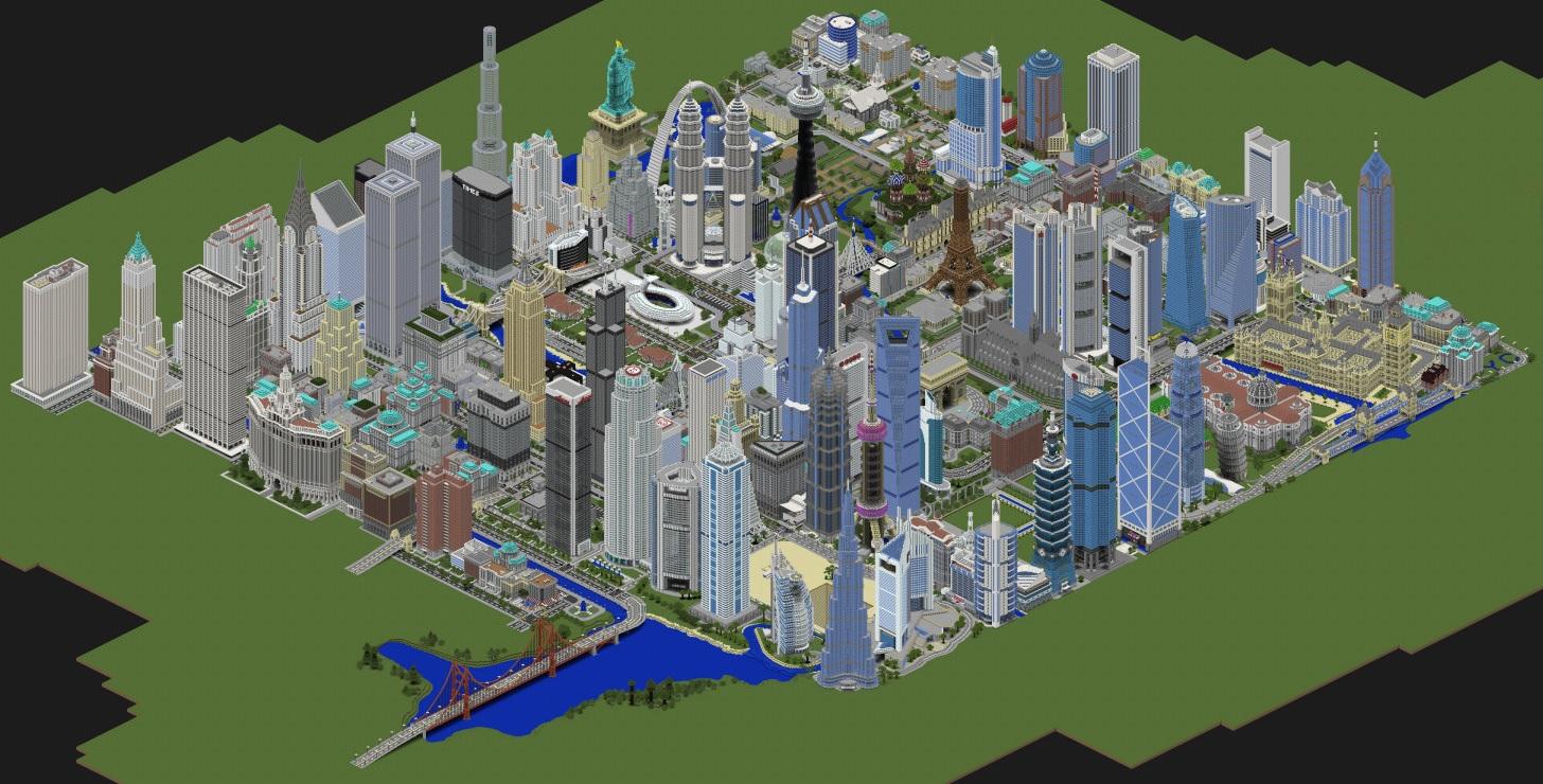 Map Monde Des Mondes Créatif Minecraftfr Forum - Minecraft xbox 360 los angeles map download