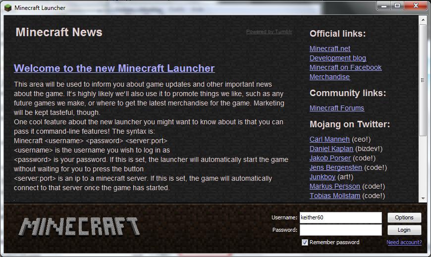 Le nouveau launcher est disponible ! Newlauncger