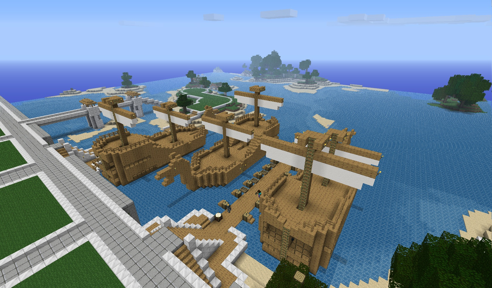 capitale6 Evolution du serveur Minecraft.fr