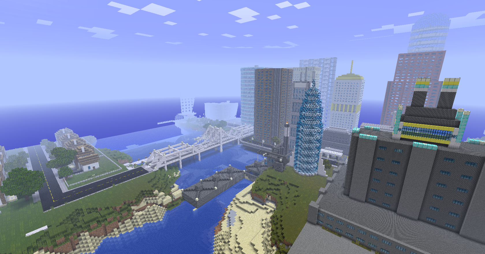 how to start a city on minecraft ps4