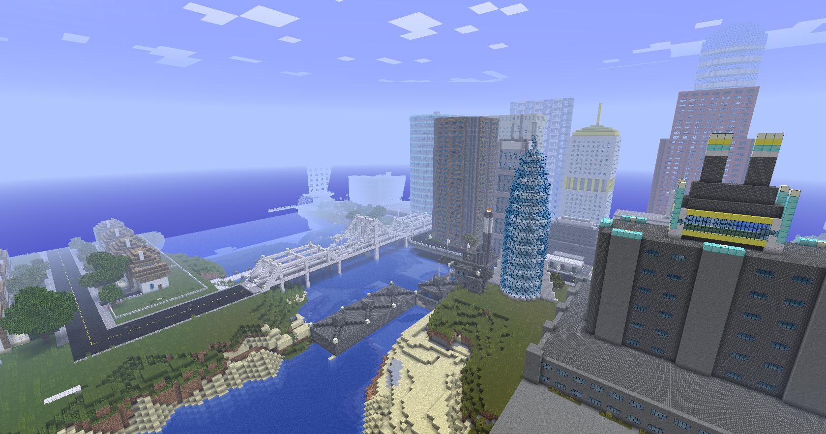 Newcraft La Ville Minecraft Fr