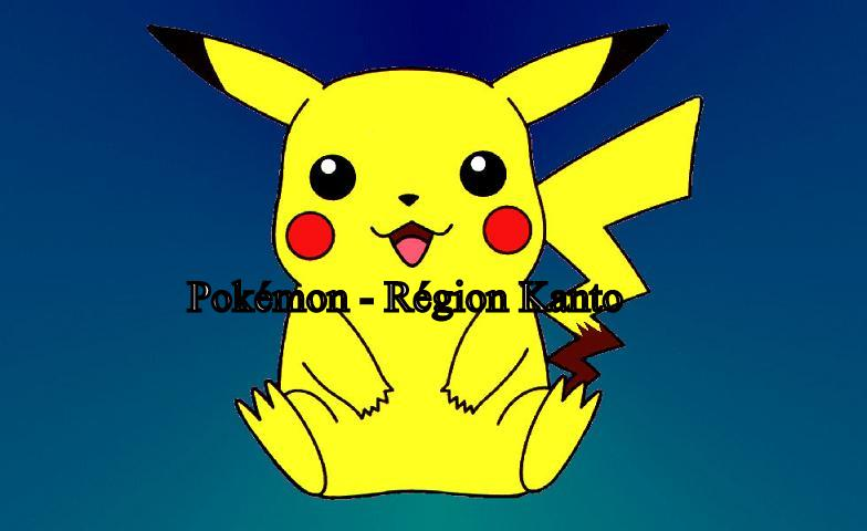 Pokemon – Région kanto