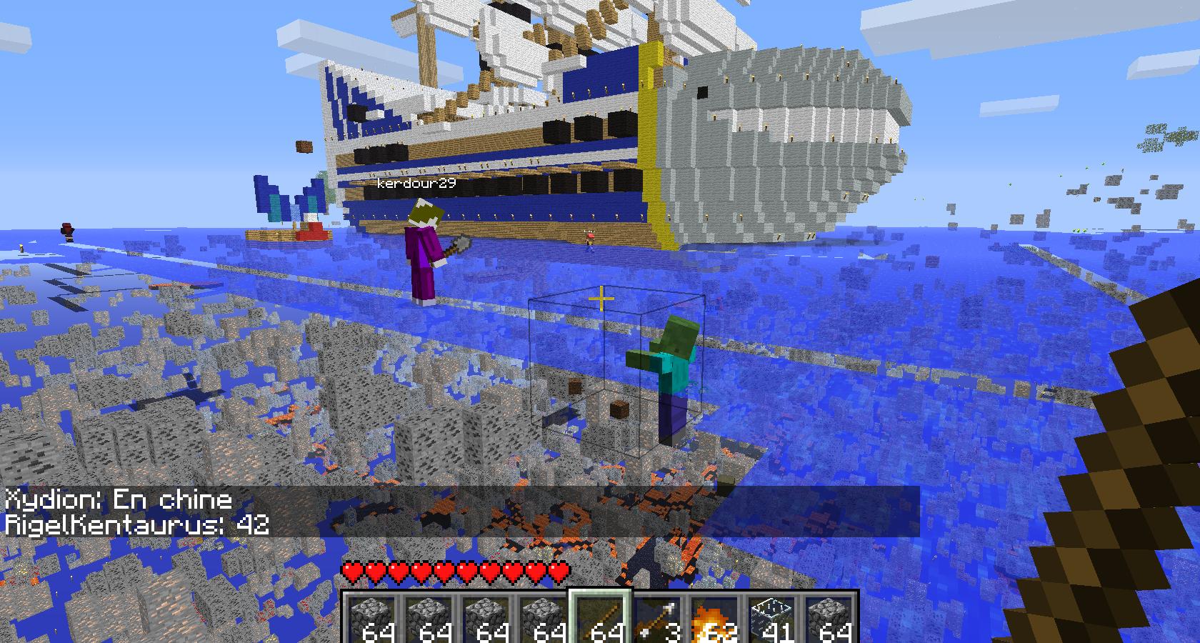 mod xray minecraft minerai
