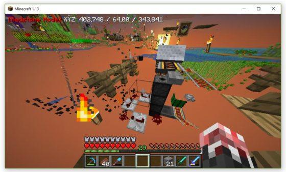 xray minecraft mode redstone