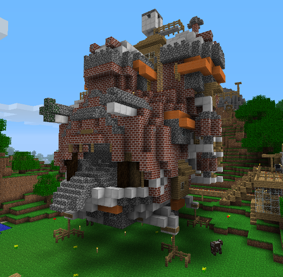 Studio Ghibli Minecraft