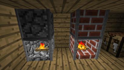 1.7.3] FIREPLACE BLOCK   Minecraft.fr