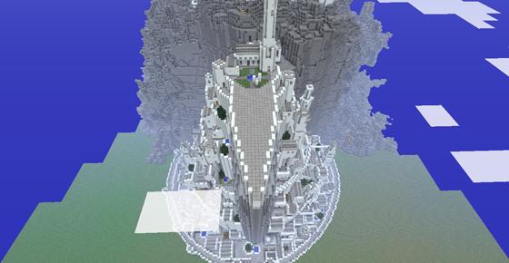 Minas Tirith Minecraft...