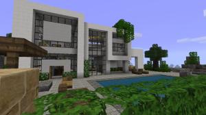 Minecraft, la déco et vous [1.7.3] maison-architecte-minecraft-300x168