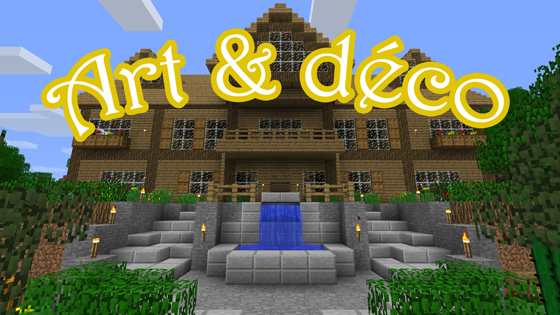 Art d co episode 1 - Decoration maison minecraft interieur ...