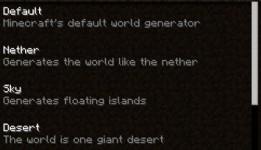 [MOD] World Generator [1.7.3]