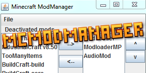 [Outil] MCModManager