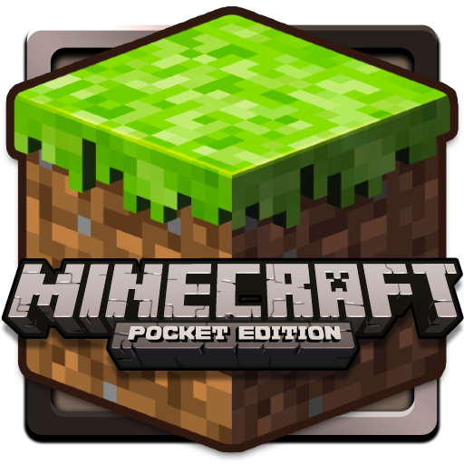 pocket edition logo Minecraft Pocket Edition