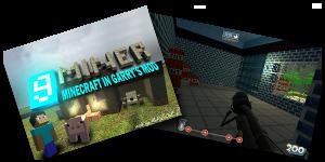 Minecraft et les autres jeux