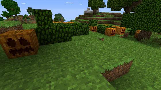 forest gen génération de citrouille world edit