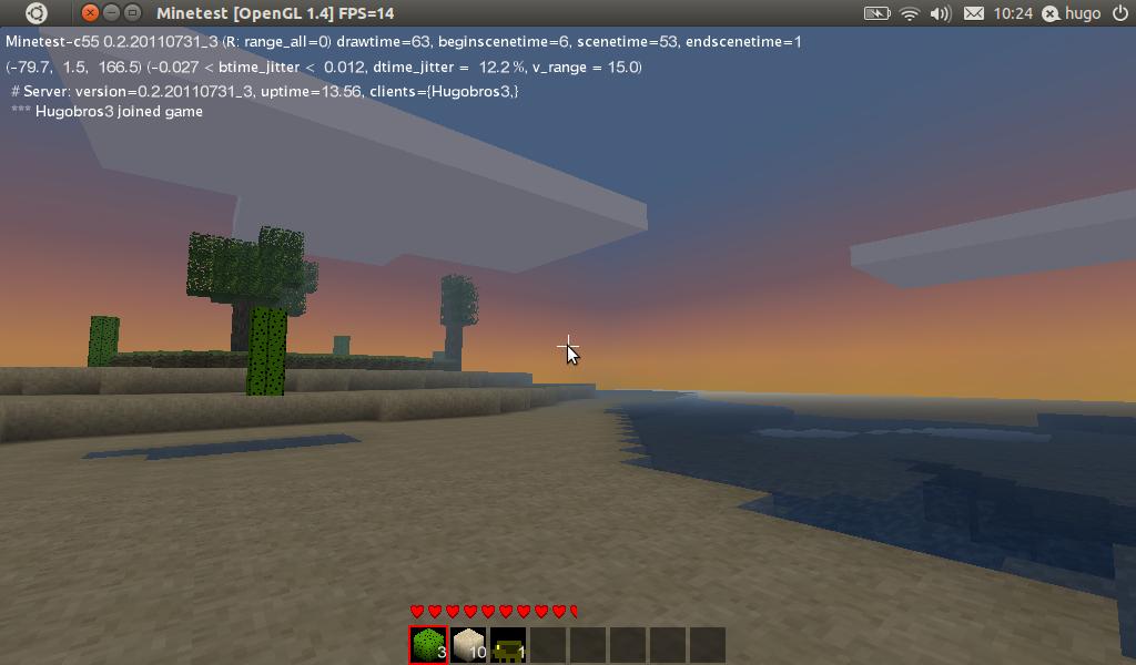 Minetest, Minecraft libre en C++