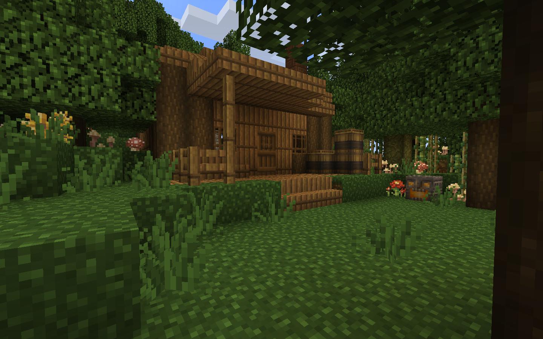 Maison En Bois Minecraft Plan Cr78 Jornalagora