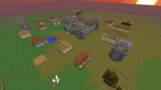 mod millénaire minecraft village byzantin