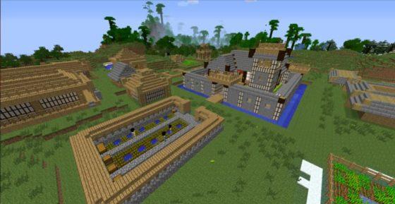 mod millénaire minecraft village maya