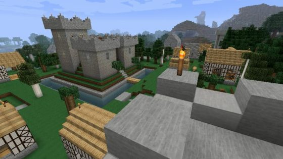 mod millénaire minecraft village normand