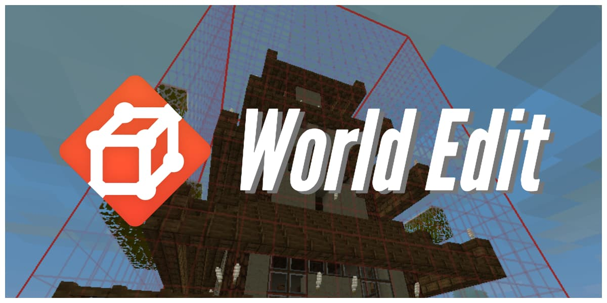World Edit – 1.7.10 → 1.16.5