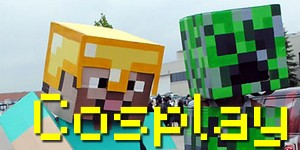 Les cosplays sur Minecraft