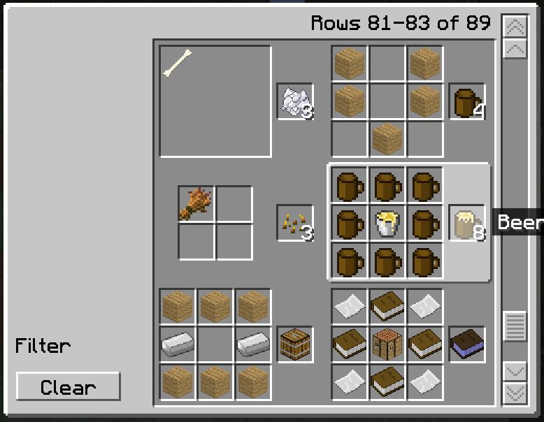 1 8 1 craftguide - Comment faire une table dans minecraft ...