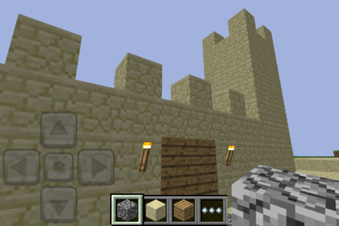 iphone Minecraft sur iOS