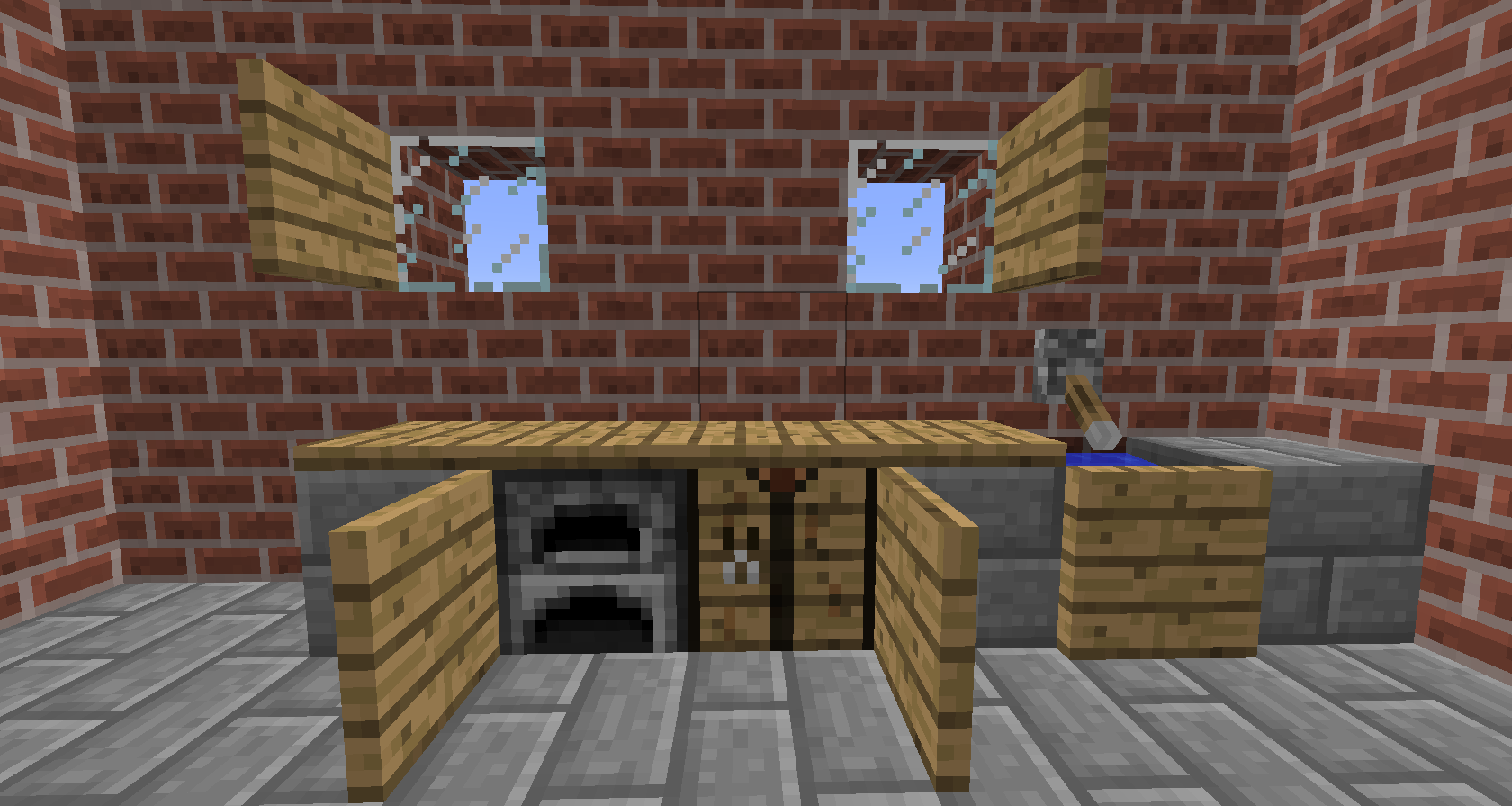 1 0 0 mod plaques for Kitchen ideas on minecraft