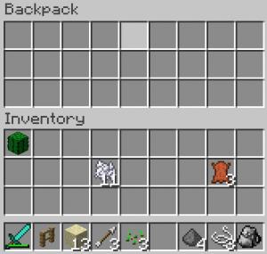 Backpack v2.5 - Моды для minecraft.