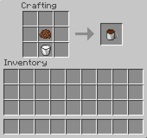 comment trouver du lait dans minecraft