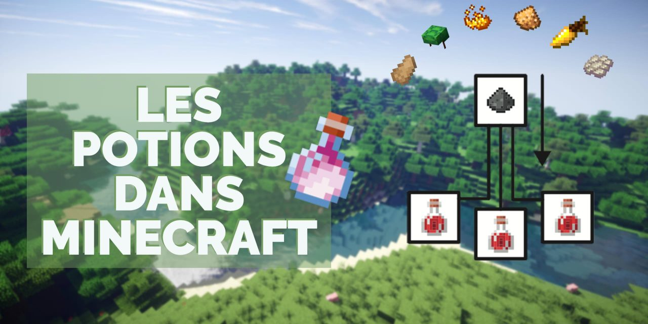 Potions dans Minecraft : recette, alchimie et ingrédients