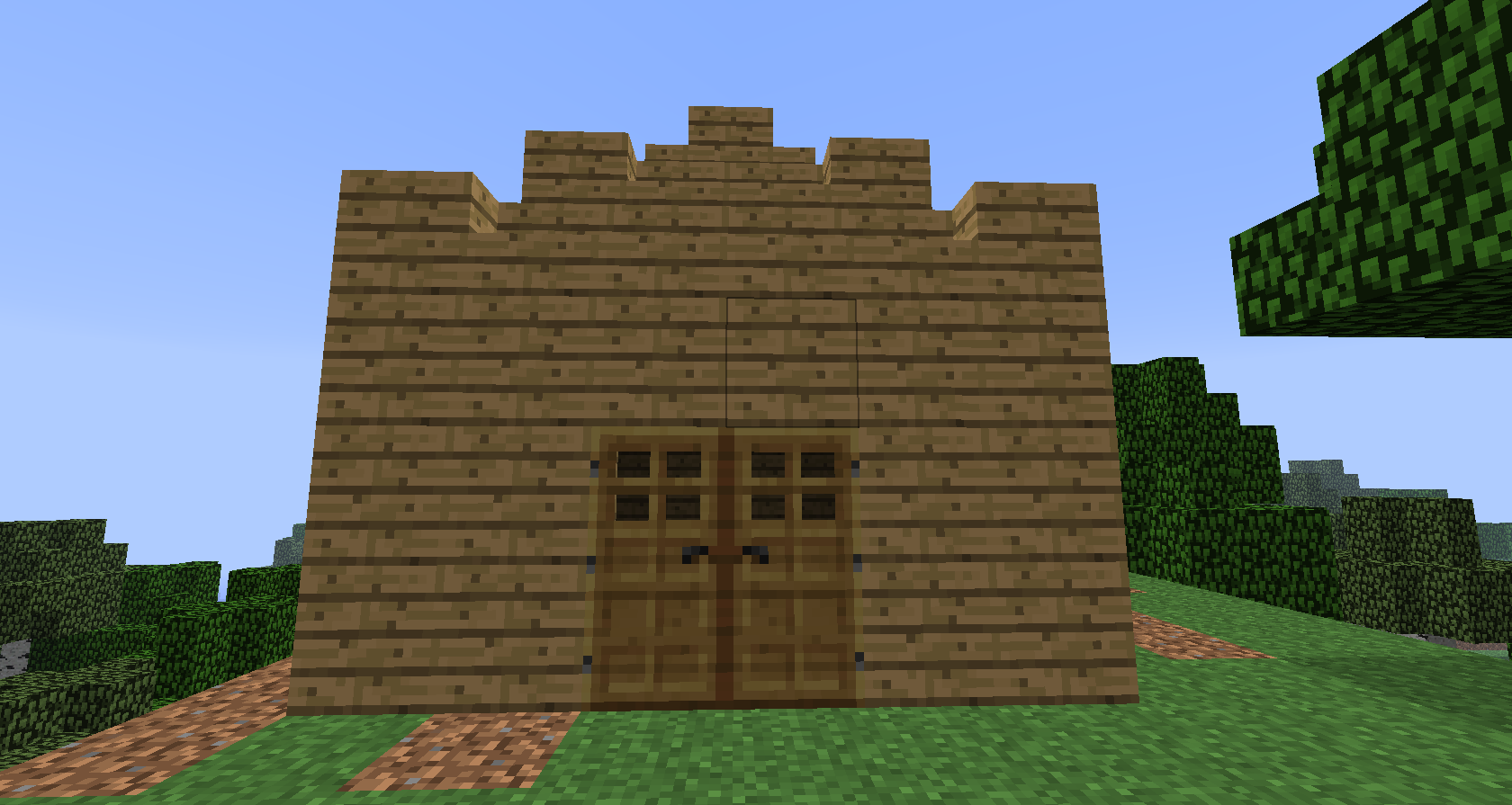 1 1 simple save for Maison facile minecraft