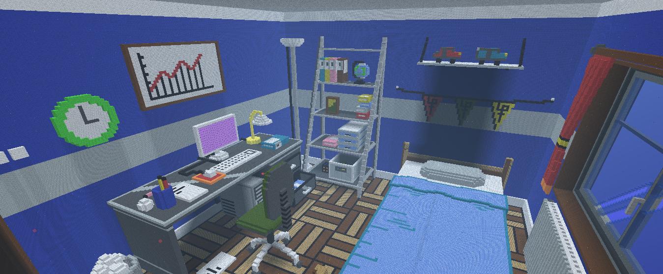 Belle chambre minecraft ~ Solutions pour la décoration intérieure ...